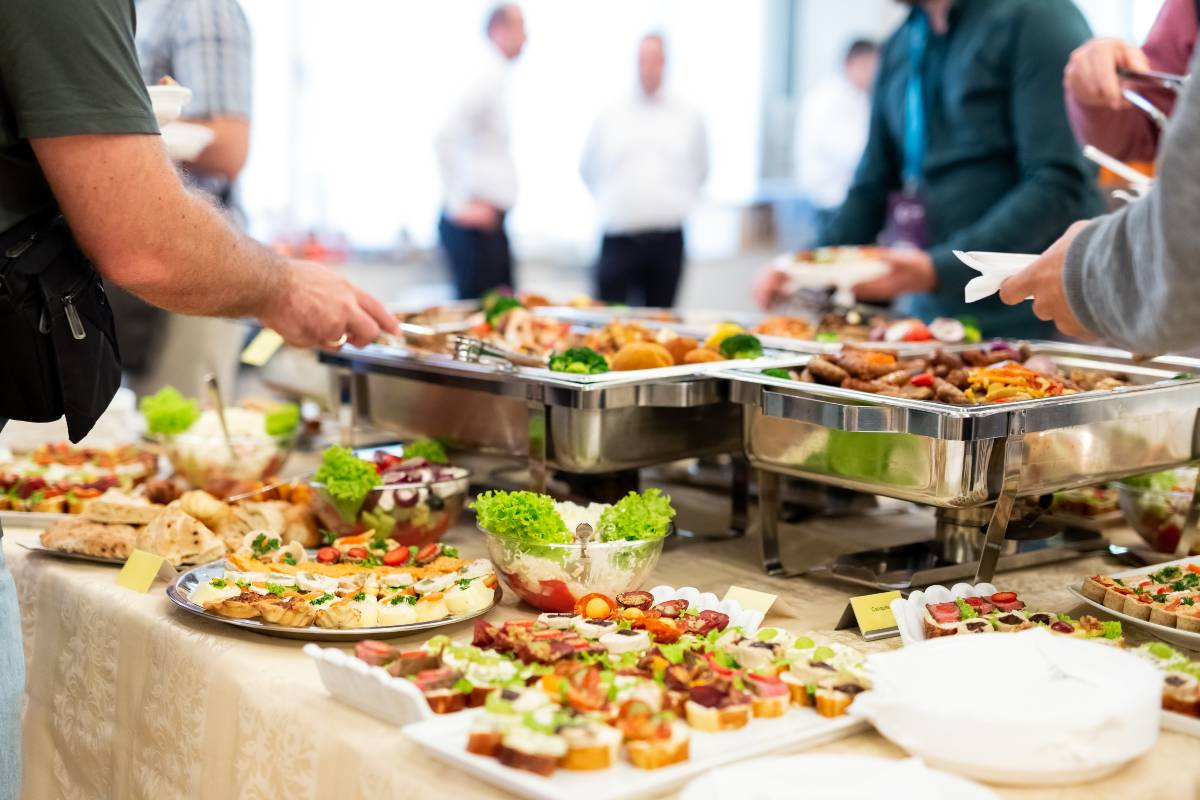 Weihnachtsfeier Catering Partyservice